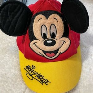 Mickey mouse toddler hat